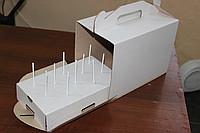 Коробка для кейк-попсів на 10 шт 242х145х175