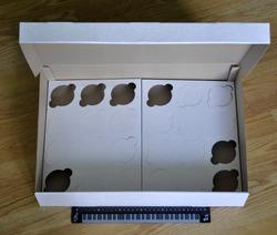 Коробка картонная для кексов на 24 шт, размер 47,5х32,1х90 см