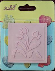 Коврик для гибкого айсинга малый Цветы 001