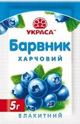 Краситель сухой Украса голубой