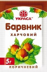 Краситель сухой Украса коричневый