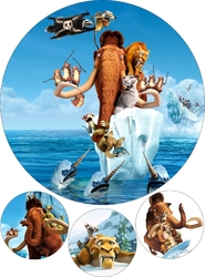 Картинка з мультика Льодовиковий период №1