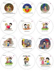 Картинки для мафінів, капкейків Love is №5
