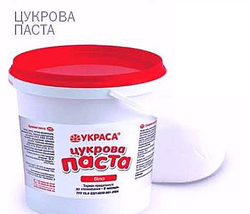 Мастика кондитерська Украса біла 1кг