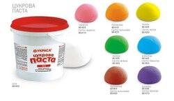 Мастика кондитерська Украса Рожева (світло-червона) 1 кг