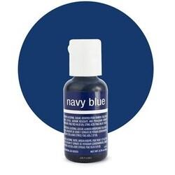 Гелевий барвник Chefmaster Liqua-Gel Navy Blue (темно-синій) 21 м