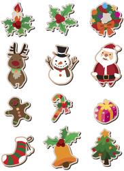 Картинки для маффинов,капкейков Новый год №11