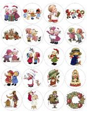 Картинки для маффинов,капкейков Новый год №12