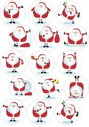 Картинки для маффинов,капкейков Новый год №14