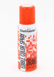 Спрей краситель Оранжевый 42 г Chefmaster