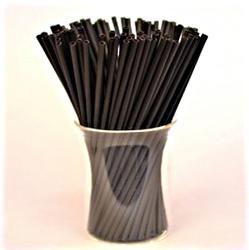 Палочки для кейк-попсов чёрные 15 см,50 шт