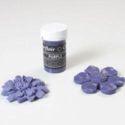 Краситель пастообразный SugarFlair PURPLE фиолетовый 25г. (NEW)