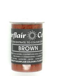 Краситель пастообразный SugarFlair BROWN коричневый 25г.