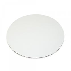 Подложка под торт круглая D25 однослойная белая