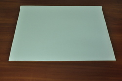 Поднос прямоугольный 40х50 см белый/золото