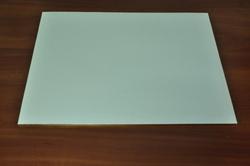 Піднос прямокутний 30х40 см білий/золото