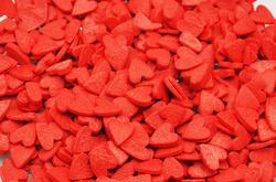 Сердечка червоні Украса - 50г.