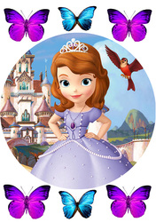 Картинка из мультика Принцесса София №1