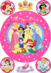 Картинка з мультиків Принцеси №3