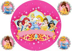 Картинка з мультиків Принцеси №4