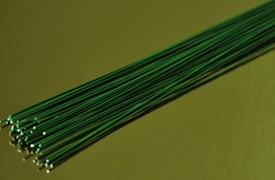 Проволока зеленая без обмотки D 0.7 мм