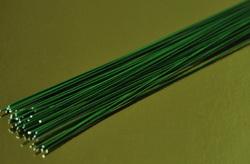 Проволока зеленая без обмотки D 0.5 мм