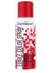 Спрей краситель Красный 42 г Chefmaster
