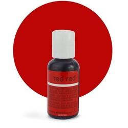 Гелевый краситель Chefmaster Liqua-Gel Red Red (красный) 21 г.