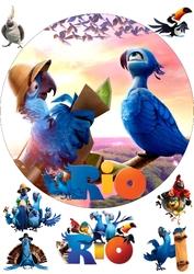 Картинка з мультика Ріо №3