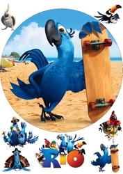 Картинка з мультика Ріо №5