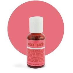 Гелевый краситель Chefmaster Liqua-Gel Rose Pink (бледно-розовый) 21 г.