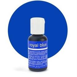 Гелевий барвник Chefmaster Liqua-Gel Royal Blue (синій королівський) 21 м