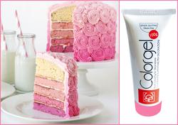 Краситель гелевый Modecor Color Gel Розовый - 100 г