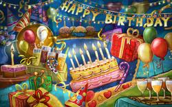 Картинка C днем рождения №2