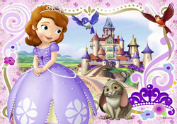 Картинка из мультика Принцесса София №2