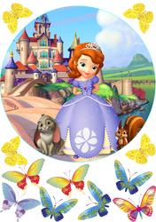 Картинка з мультика Принцеса Софія №4