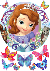 Картинка з мультика Принцеса Софія №5