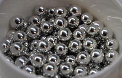 Сахарные шарики серебряные 7мм 20 г.