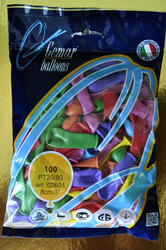 Шарики воздушные 1 шт. 8 см