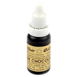 Барвник гелевий SugarFlair DARK CHOCOLATE Темно-шоколадний 14г.