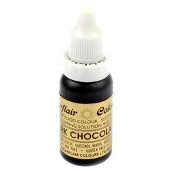 Краситель гелевый SugarFlair DARK CHOCOLATE Темно-шоколадный 14г.