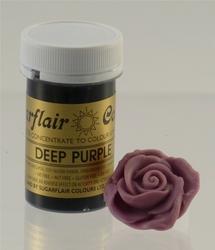 Краситель пастообразный SugarFlair Deep Purple темно-фиолетовый 25г. (NEW)