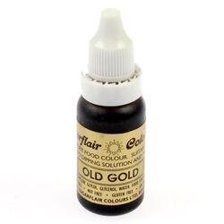 Краситель гелевый SugarFlair OLD GOLD  Старое золото 14г.