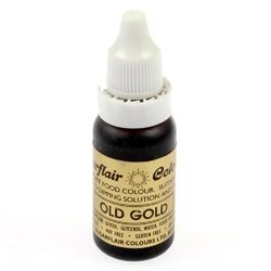 Барвник гелевий SugarFlair OLD GOLD Старе золото 14г.