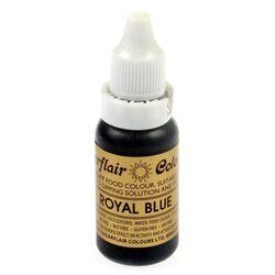 Краситель гелевый SugarFlair ROYAL BLUE Королеский синий 14г.
