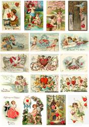 Картинки для мафінів, капкейков З Днем Святого Валентина №172