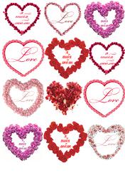 Картинки для мафінів, капкейков З Днем Святого Валентина №170