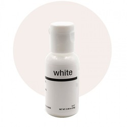 Гелевий барвник Chefmaster Liqua-Gel Bright White (білий) 21 м