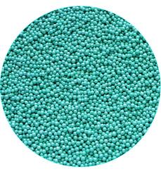 Нонпарель перламутровое бирюзоое D-1мм 100 г
