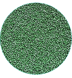 Нонпарель перламутровое темно-зеленое  D-1мм 50 г